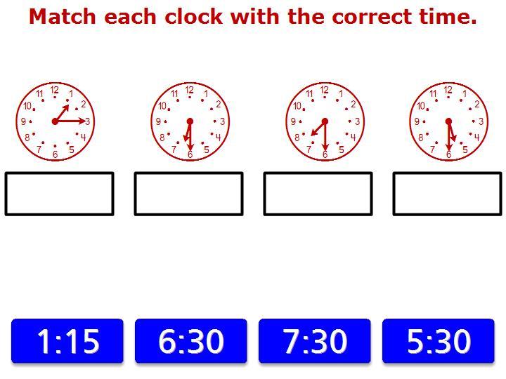Math Play Time Matching Game | Cartoonjdi co