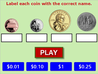 Coins and Bills Game