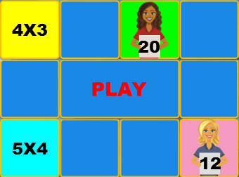Maths games 3 and 4 times tables multiplication game times table 41000 ideas about tables on - Free online times tables games ...