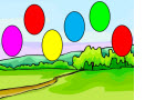 Adding Integers Baloon Game