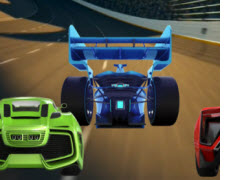 Math Racing Game