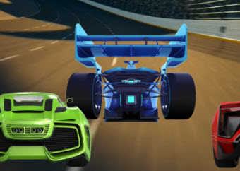 Math Racing Game Add Doubles