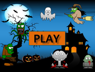 7th  Grade Halloween Math Game