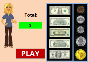 Subtracting Money Game