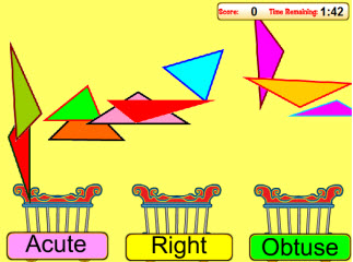 Classifying Triangles Game