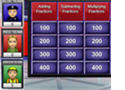 Multiplication Jeopardy Game