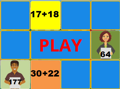 Number Names Worksheets adding two digit numbers with regrouping : Two Digit Addition Game with Regrouping